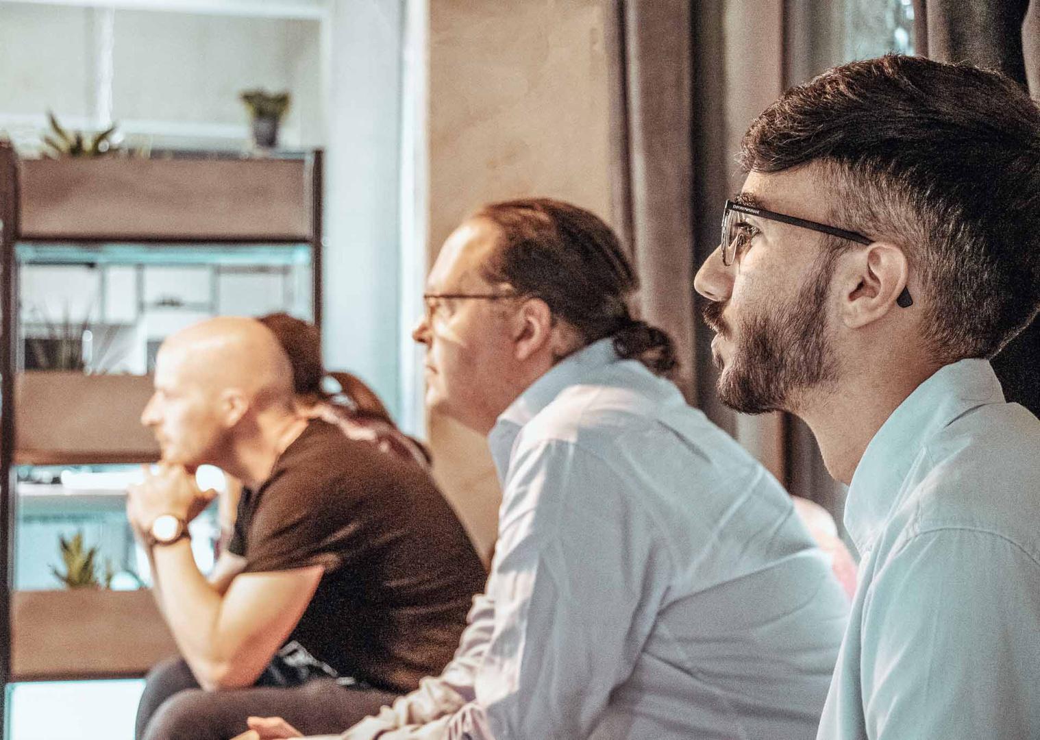Entwickler-Meetings bei Interaktiv